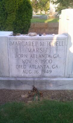 Margaret Mitchell was struck by a speeding automobile as she crossed Peachtree Street at 13th Street in Atlanta with her husband, John Marsh, while on her way to see a movie on the evening of August 11, 1949.