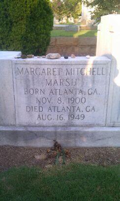 Margaret Mitchell Grave