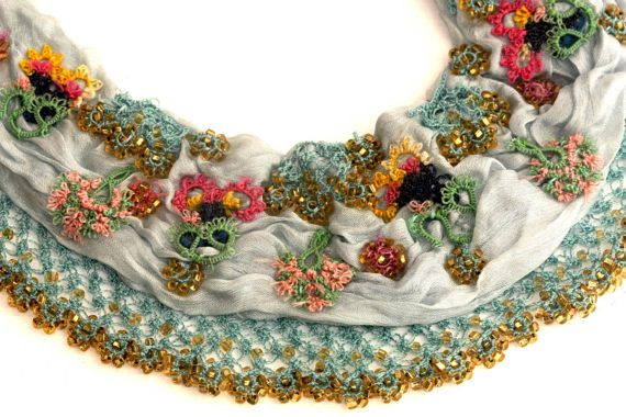 Hey, I found this really awesome Etsy listing at https://www.etsy.com/listing/505419036/turkish-embroidery-necklace-on-blue-silk