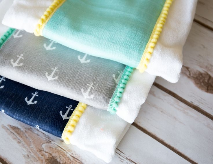 Simple Burp Cloth Tutorial - Simple Simon and Company