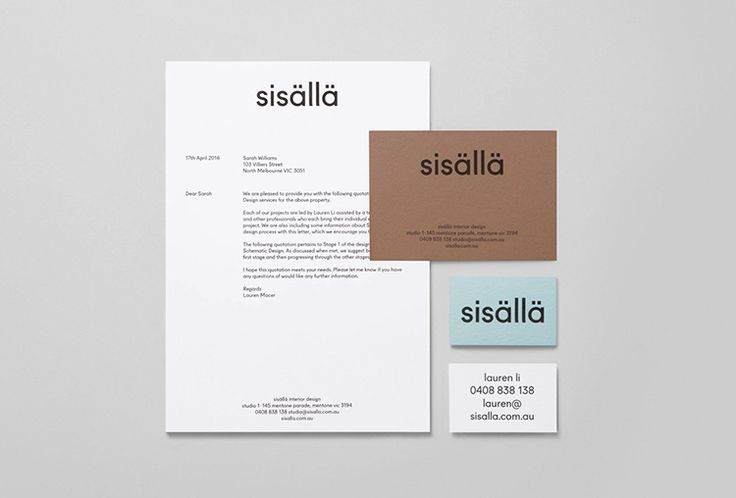 Picture of 4 designed by Mildred & Duck for the project Sisällä. Published on the Visual Journal in date 31 October 2016