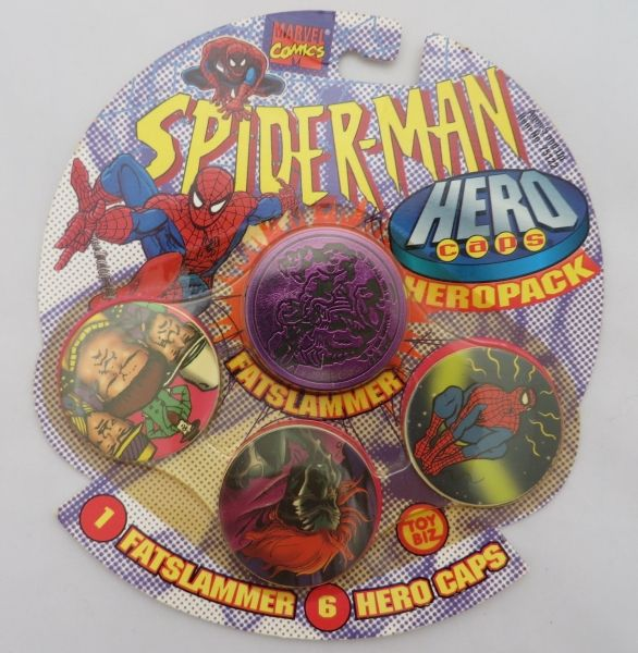 【激レア】1995 トイビズ社 スパイダーマンHERO CAPS 2個セット_2種類目の中身