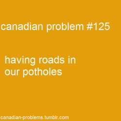 Canadian problem #125. I miss this!!