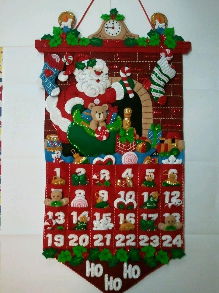 Must Be Santa Advent Calendar for Doug & Kaye Hunter