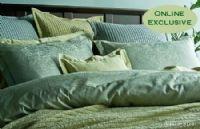 Eros Spa Luxury Bedding by Revelle  www.heirloomlinens.com