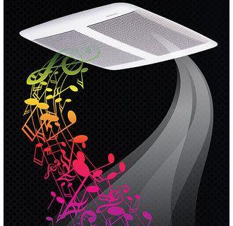 bathroom exhaust fan with bluetooth speaker Broan SPK110