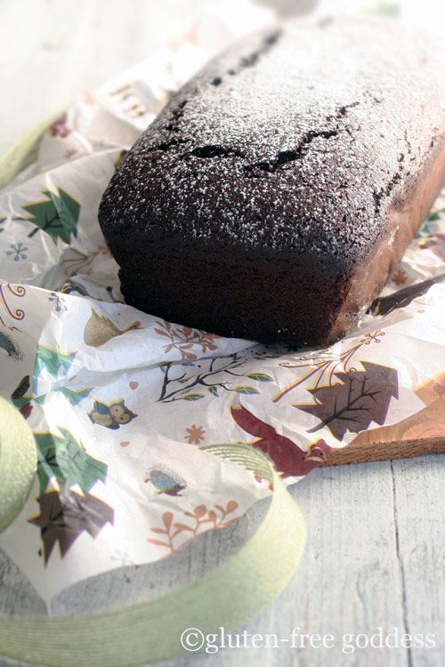 Gluten-free chocolate gingerbread (dairy-free, too)
