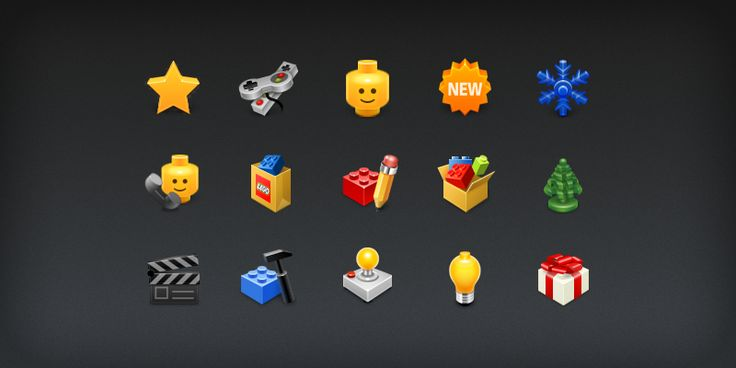 LEGO Icon Suite