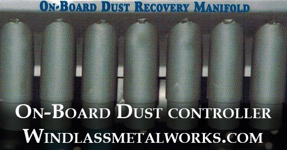 Windlass Metal works at Houston, Texas offers On-Board dust recovery which provides you the ability to clean your filters manually, continuously, automatically based on pressure differential and during down-time.