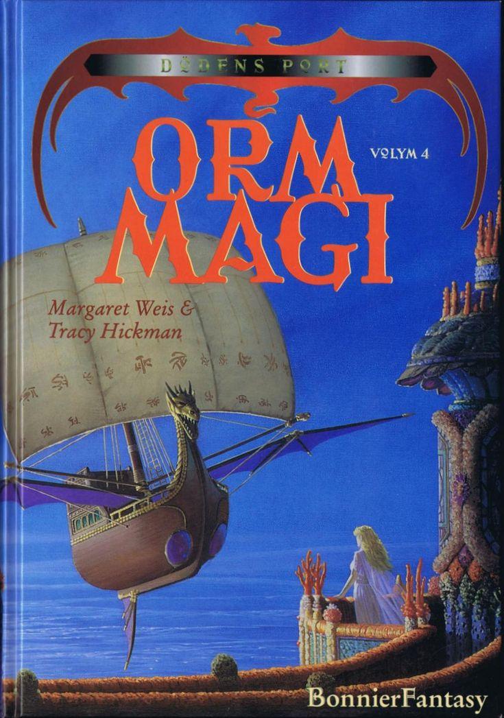 Ormmagi av Margaret Weis & Tracy Hickman (Kartonnage) Fjärde och sista svenska boken i serien Dödens port. Ytterligare tre böcker finns på engelska dock. #fantasyböcker