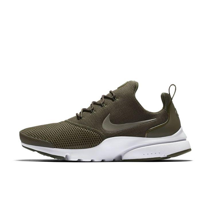 Nike Presto Fly Men's Shoe Size 11.5 (Olive) - Clearance Sale