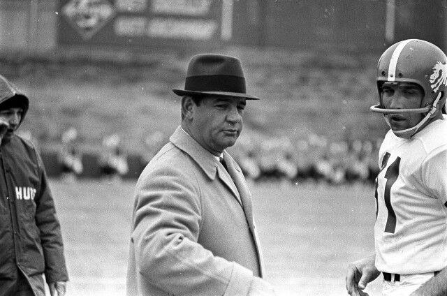 1962-1964 Jack Faulkner Denver Broncos Head Coach