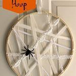 Spider Web Hoop
