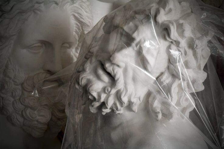 Bust of Laocoon at FeliceCalchi Studio www.felicecalchi.com