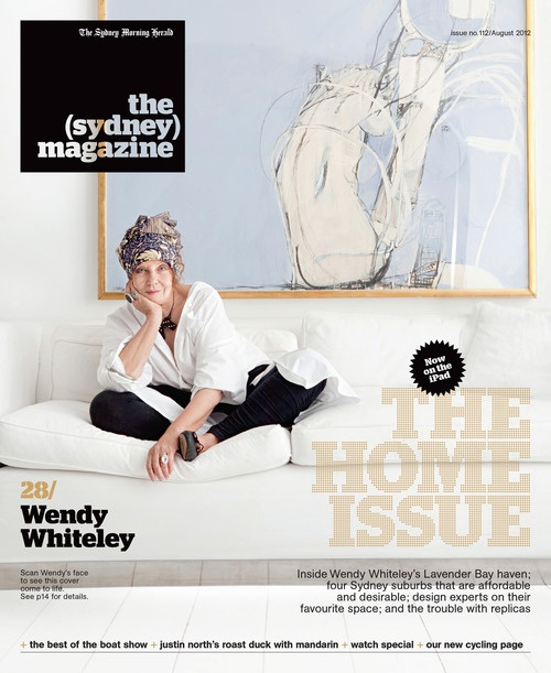 COVER: Wendy Whiteley [the (sydney) magazine]