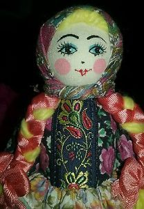 8-CLOTH-RUSSIAN-LADY-DOLL-HANDMADE-GORGEOUS