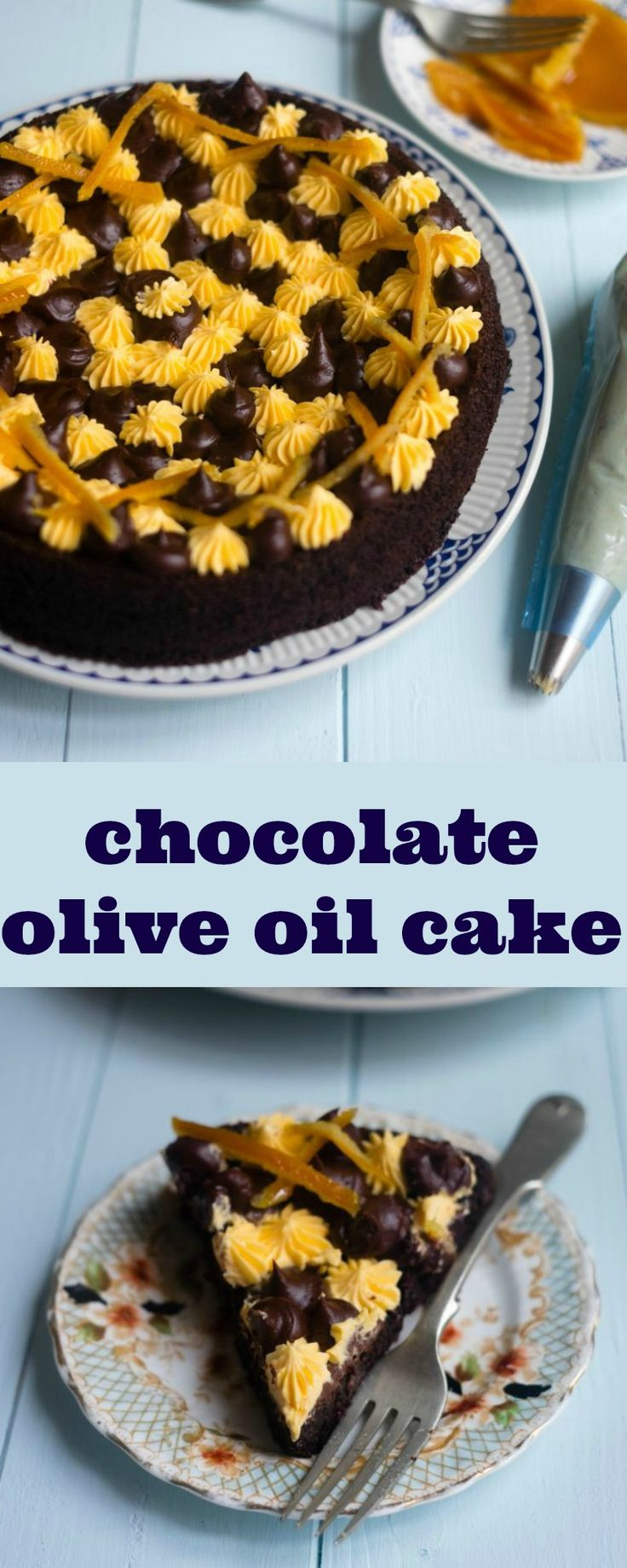 Chocolate Olive Oil Cake - Patisserie Makes Perfect