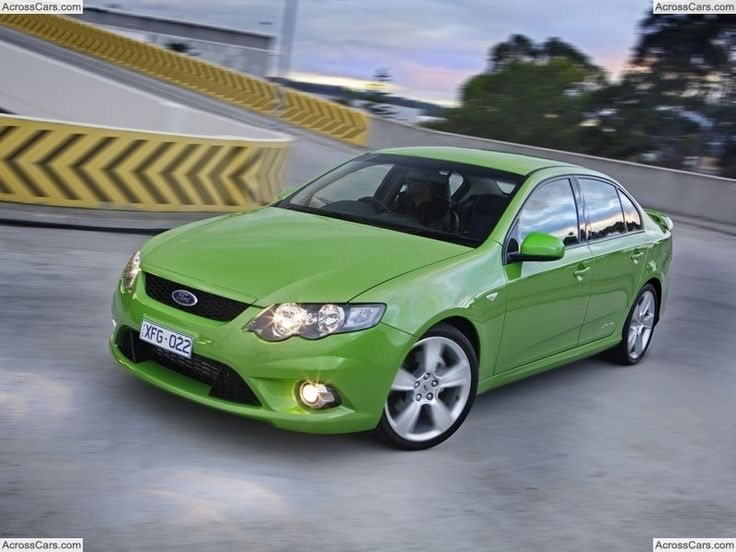 Ford FG Falcon XR6 Turbo (2008)