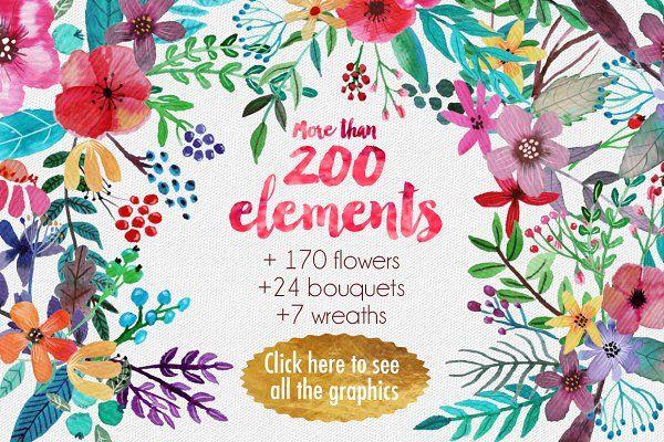 Flowertopia - Illustrations