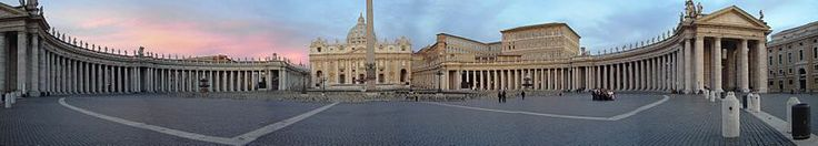 St. Peter's Square in the Vatican City