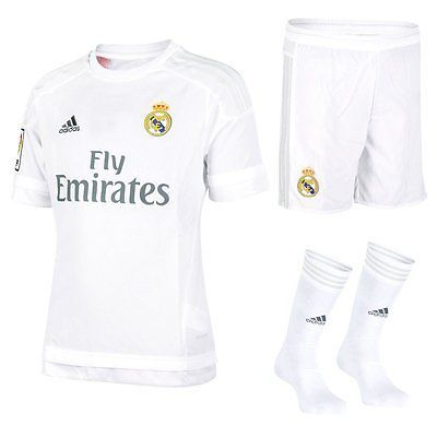 Real madrid #adidas kids football kit & #presentation, gift box #shirt short sock,  View more on the LINK: 	http://www.zeppy.io/product/gb/2/262728655778/