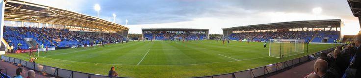 The New Meadow - Panoramic - Shrewsbury Town FC