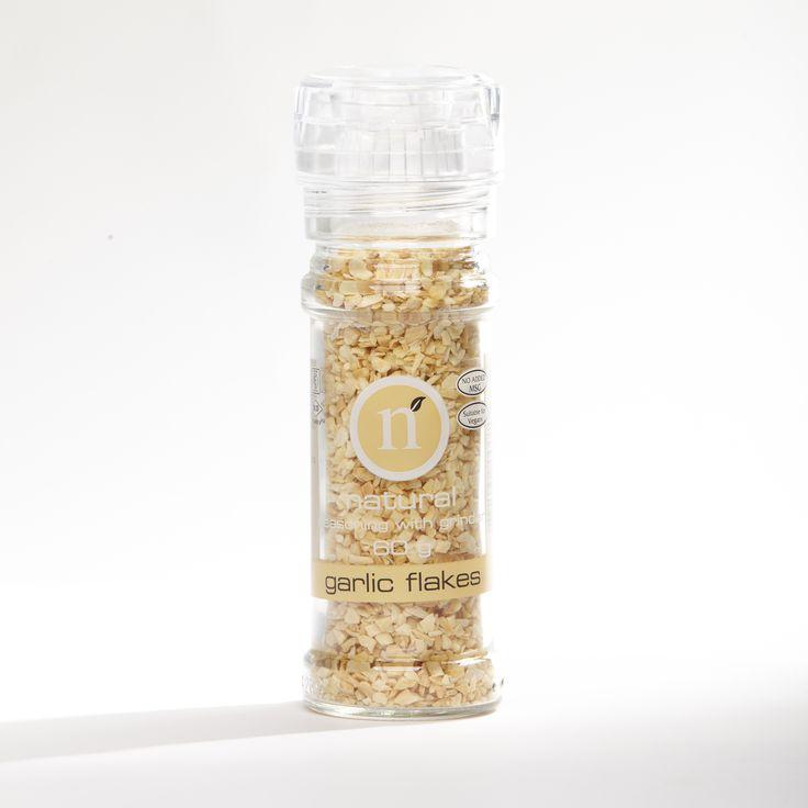 Garlic flakes grinder