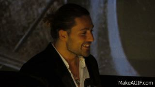 David Garrett - Live im Cineplex Berlin - Interview + Caprice No. 14 unplugged 13.11.2013 is an animated gif that was created for free on MakeAGif.