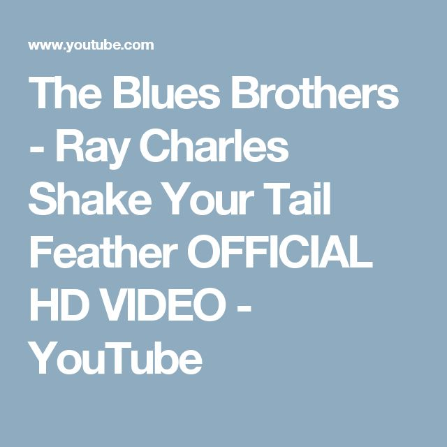 The Blues Brothers - She Caught the Katy (HQ) - YouTube | MUSIQUE ...