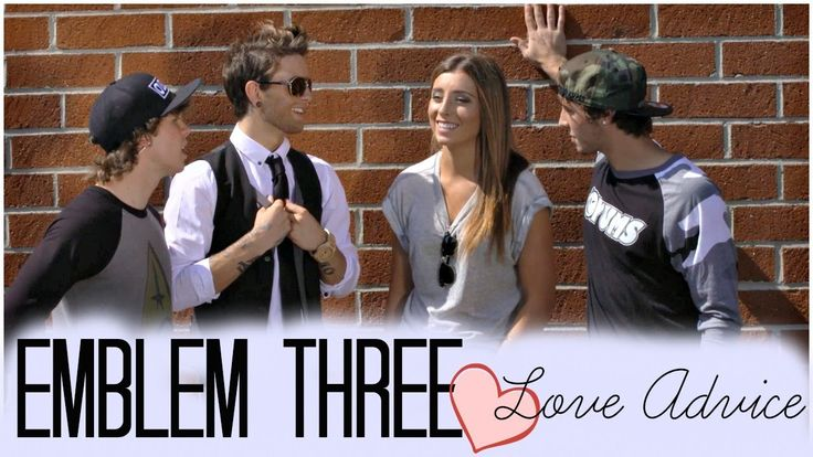 Emblem 3's Guy Advice About Love! | LoveLaurenElizabeth Haha this was too funny...
