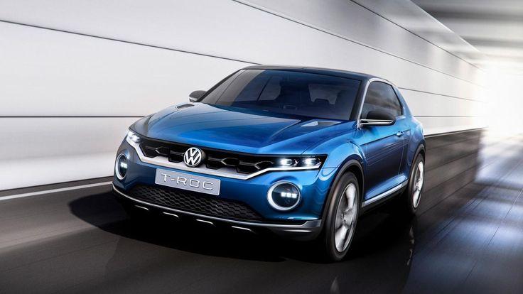 Volkswagen T ROC Concept Car