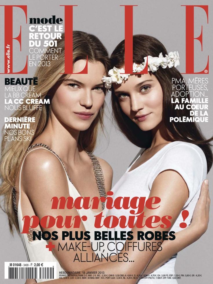 Elle magazine n°3499 : mariage pour toutes !