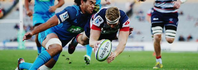 Another Pic From This Weeks 1st Round Encounter Super 18 Rugby Season Between The Blues From Auckland And Melbourne Rebels Played At Melbourne This Last Thursday 2017-02-23. The Blues Came Out On Top Winning The Match By 56-18.