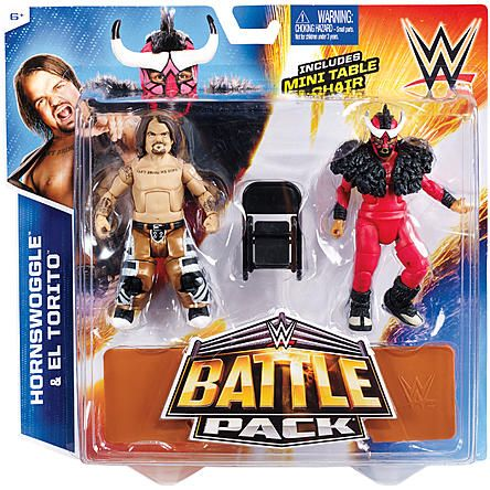 WWE Hornswoggle & El Torito - WWE Battle Packs 34 Toy Wrestling Action Figures