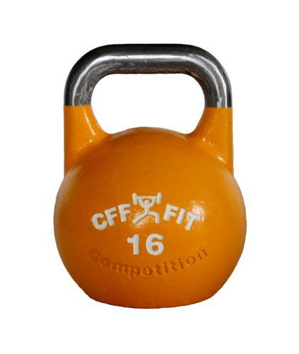 50% Off was $105.60, now is $52.80! CFF 16 kg Pro Competition Russian Kettlebell (Girya)W/ free block of chalk! Great for CrossfitTM and MMA Training...