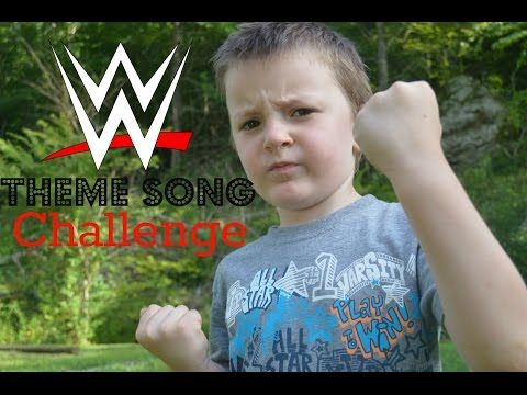 WWE Theme song Challenge! (Jaylen) (6 year old guesses WWE Theme songs) - YouTube