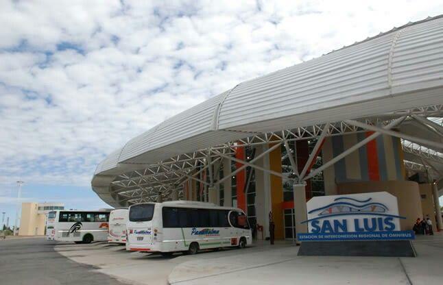 Terminal de Omnibus San Luis.