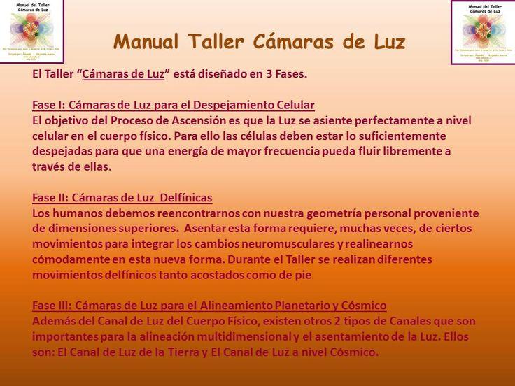 Detalle del Manual del Taller Cámaras de Luz