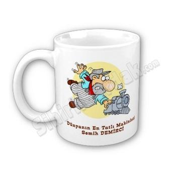 Makinistlere ve tren severlere özel hediye sihirli bardak ile ona özel olduğunu hissetirebilir, çay ve kahve keyfini daha keyifli bir hale dönüştürebilirsiniz.   http://www.sihirlibardak.com/mesleki-tasarimlar/makinistlere-ozel-sihirli-bardak.html