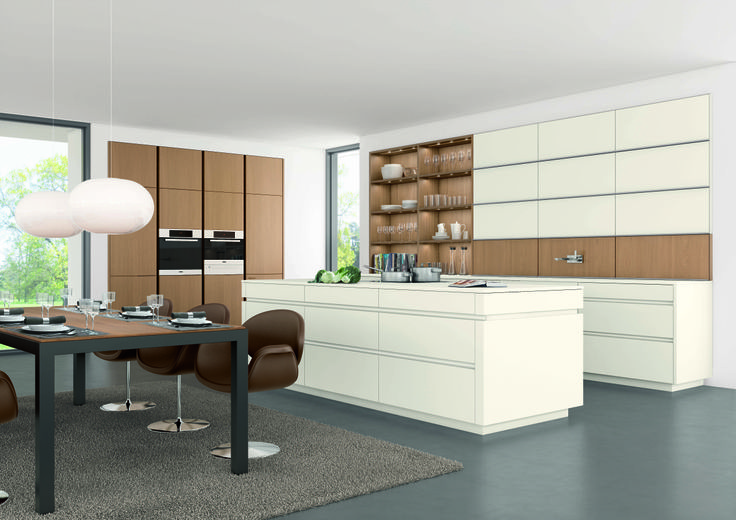 CONCEPT 40 CLASSIC FS AVANCE FS Timber Leicht Kitchen