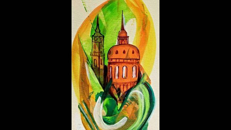 Magic Prague Paintigs by Frantiska Janeckova