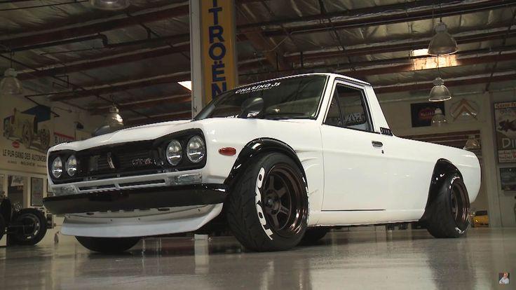 1974 Datsun Sunny 1200 UTE restomod - http://www ...