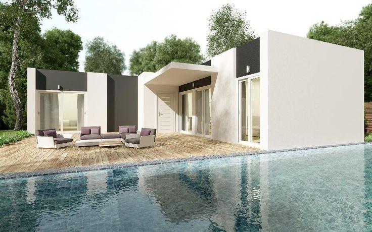 17 best images about casas prefabricadas on pinterest - Casas prefabricadas portugal ...