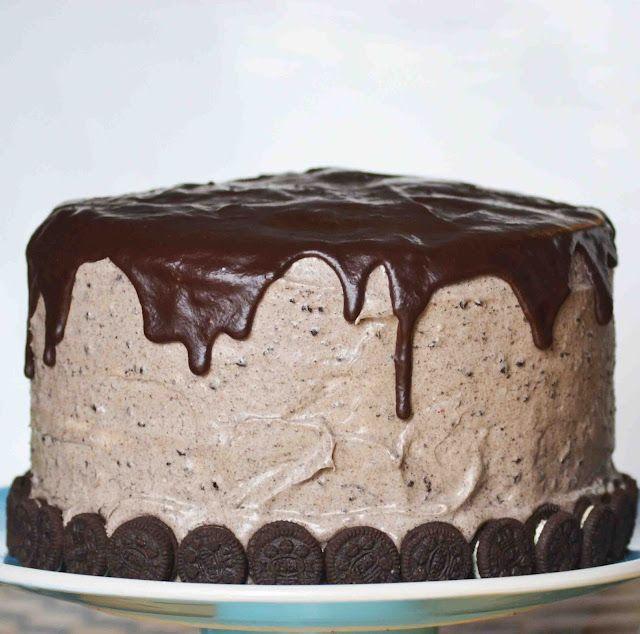Red Velvet Oreo CakeChocolates Cake, Frostings Recipe, Velvet Oreo, Birthday Cake, Cream Chees Frostings, Oreo Cake, Red Velvet Cakes, Cream Cheeses, Cream Cheese Frosting