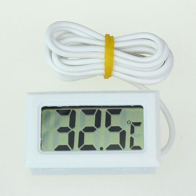 1pc LCD Digital Thermometer Probe Fridge Freezer Thermometer Thermograph for Refrigerator Temperature