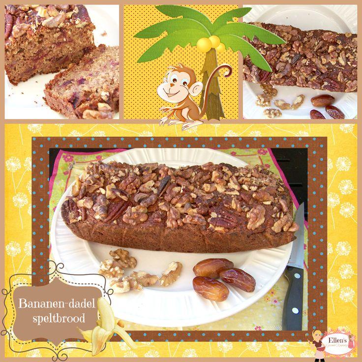 Bananenbrood met spelt