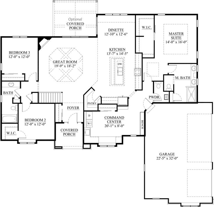 The Finley Parade Of Homes Model Floor Plan Sq Ft 2 302 Bedrooms