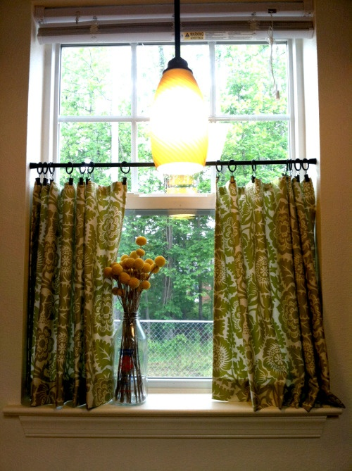 377 best window treatments images on pinterest cenefas - Cortinas de bano transparentes ...