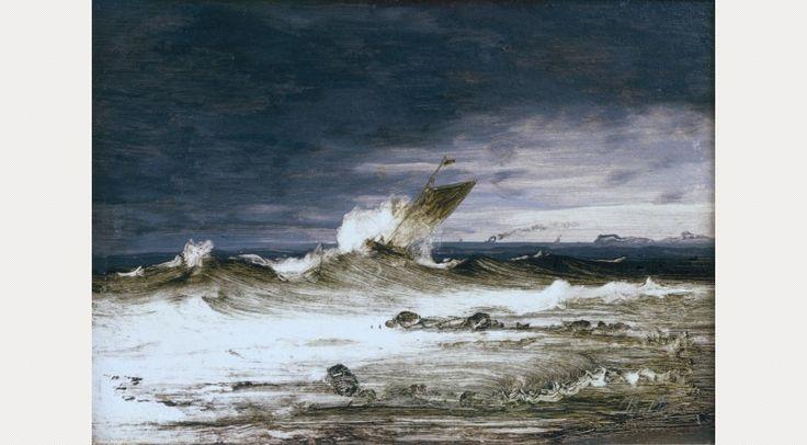 Peder Balke, Seascape, c.1860