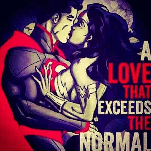 Superman And Wonder Woman: A Love That Exceeds The Normal                                                                                                                                                                                             ♡Ṙ!dĘ╼óR╾D!Ê♡